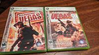 Tom Clancy's Rainbow Six Vegas 1 & 2 Microsoft Xbox 360 2 Game Bundle