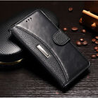 For Apple iPhone 8 Plus X Leather Wallet Card Magnet Flip Shockproof Cover Case