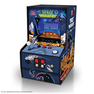 "My Arcade Space Invaders Micro Player - 6.75"" Collectible Retro Arcade Machine"
