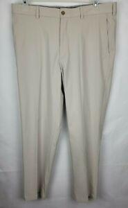 Walter Hagen 36 x 32 Beige 11 Majors Tech Moisture Wicking Flex Golf Dress Pant