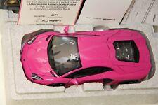 1/18 AUTOART LAMBORGHINI AVENTADOR LP700-4 PINK , NEW , 74660