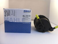 Ford Fusion 1.4 TDCI Diesel Fuel Filter 2002 to 2011 GENUINE MAHLE OE KL777D
