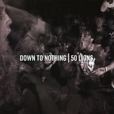 50 LIONS / DOWN TO NOTHING Split 6 Track CD EP BRAND NEW