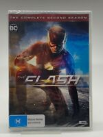 The Flash : Season 2 (DVD, 6 Disc Set) New & Sealed.