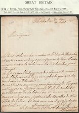 More details for 1696 whitehall letter from william blathwayte secretary for war (in french)