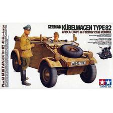 Tamiya 36202 allemand Kubelwagen Type 82 Afrique-corps W/rommel 1/16