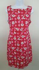 Mimi  Fuchsia Blush Maternity Dress  Size M  100% Cotton