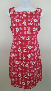 Mimi  Fuchsia Blush Maternity Dress  Size M  100% Cotton