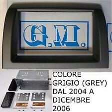 Mascherina telaio kit doppio 2 Din LANCIA Y Ypsilon dal 2004 colore GRIGIO SCURO