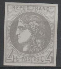 "FRANCE STAMP TIMBRE N° 41 Bb "" CERES BORDEAUX 4c GRIS LILAS "" NEUF xx TTB  N220"