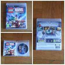 LEGO MARVEL SUPER HEROES PER PS3 COME NUOVO PAL UK IN ITALIANO