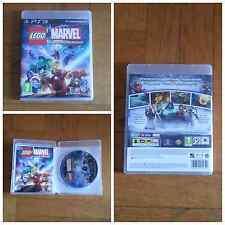 LEGO MARVEL SUPER HEROES PER PS3 COME NUOVO PAL UK IN ITALIANO