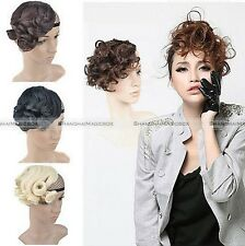 Women's Wavy Curly Bangs Fringe Hairpiece Clip-In Hair Extension 3 colors