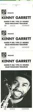 RARE / TICKET DE CONCERT - KENNY GARRETT ( SAXO) LIVE A TOULOUSE ( FRANCE ) 1995