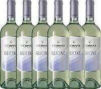 6 x VINO Corvo Glicine Bianco CL 75 2019 Duca di Salaparuta TERRE DI Sicilia