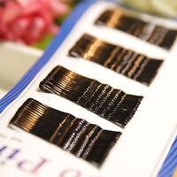 56× Women invisible Hair Clips Flat.Bobby Pins Grip Salon Barrette-Hairpin