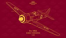 Eduard ® R0016 Dual Combo Focke Wulf FW 190A Early Versions Royal Class 1:48