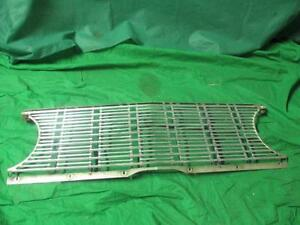 1963 63 Plymouth Fury Savoy Belvedere Grill Assembly Good Used MOPAR