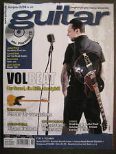 GUITAR MAGAZINE 2008/11 NR. 102 - VOLBEAT JUDAS PRIEST BEATSTEAKS INCL. CD