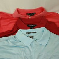 Lot of 3 Nike Mens Dri Fit Tiger Woods Collection TW Polo Shirt Size XL Blue Red
