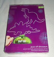 M&S Buzz Off Dinosaur Game Flashing Light / Roaring Buzzer Steady Hand - Rare