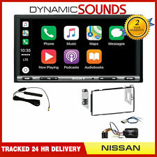 Sony DAB Car Play Android Auto Bluetooth Upgrade Kit for Nissan Qashqai 2007-13