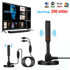 More details for uk best portable tv antenna indoor outdoor digital hd freeview aerial ariel new