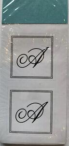 "A Sticker Monogram Initial Envelope Seals Gartner Studios 1"""