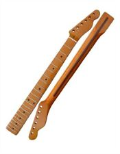 "Telecaster Neck - Maple Fretboard Vintage Gloss Finish 7.25"" Radius"