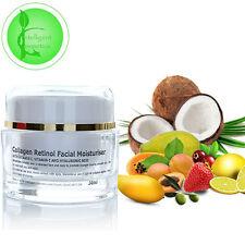 Colágeno retinol Rejuvenecedor Crema Hidratante Con Ácido Hialurónico Vitamina C Y Argán
