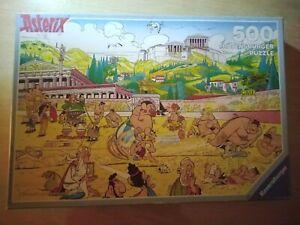 Puzzle Ravensburger 500 pièces Astérix aux jeux olympiques 142927 an 1991 RARE