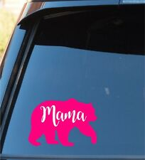 Mama Bear Vinyl Decal Sticker Car Truck Window Auto Sticker decals