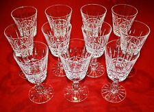 """Waterford Crystal """"Kylemore"""" 11 Water Goblet Glasses Mint! 6 3/4"""" Tall"""