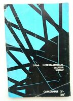 1966 Melbourne International Motor Show Catalogue