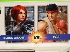 Marvel Universe 3.75 GAMERVERSE BLACK WIDOW & RYU MIP Legends ps4 street fighter