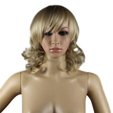 LK _ eg _ BA _ mujer sexy cosplay fiesta corto Ondulado Wave Natural Sin
