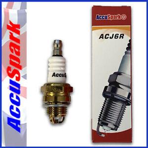 AccuSpark ACJ6R as NGK Spark Plug BPMR7A Fits Most  HUSQVARNA Chainsaws