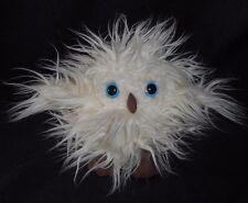 JELLYCAT BABY OLIVE THE WHITE OWL FUZZY BLUE EYES STUFFED ANIMAL PLUSH TOY LOVEY