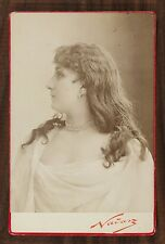 Mlle Nicolaisem, Actrice Théâtre Photo Cabinet card Nadar