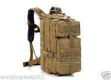 Nylon Camping Hiking Walking Military Travel Backpack Back Sack Heavy Duty #1