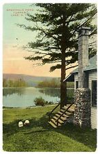 Tupper Lake NY - COTTAGE ON SPECTACLE POND - Postcard