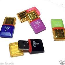 New Generic Micro SD MicroSD SDHC USB 2.0 Card Reader Writer - Diamond Cut