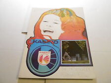 VINTAGE MUSICAL INSTRUMENT CATALOG #10231 - 1974 KASINO AMPLIFIERS w/PRICE LIST