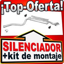 Silenciador Trasero FIAT CINQUECENTO 1.1 54HP SPORTING 10.1994-1998 Escape NPU