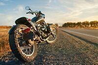 A1 | Cool Motorcycle Poster Art Print 60 x 90cm 180gsm Motorbike Biker #8210