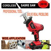 20V Cordless reciprocating saws Sabre saw +Li Battery jigsaw sawzall Power tool