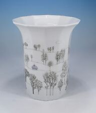 "Rosenthal ""Polygon Winterreise"" Vase"