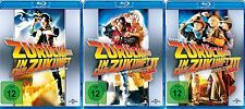Zurück in die Zukunft 1,2,3 Teil - Michael J. Fox - 3 Blu Ray Pack - Neu u. OVP