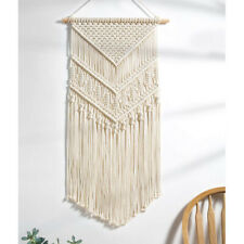 Macrame Wall Hanging Tapestry Wall Decor Boho Chic Handmade Cotton Decor Woven