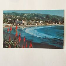 Laguna Beach California Poste 1957 Postcard